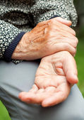 Wrist pain — Stock Photo
