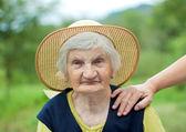 Smiling grandmother — Stock Photo