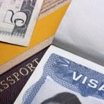 American Visa — Stock Photo