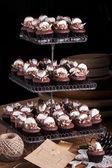 Chocolate Cupcakes with Marshmallo — Stock Photo