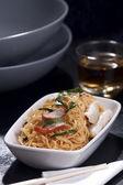 Stir-Fried Egg Noodles — Stock Photo