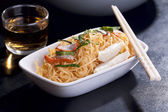 Chinese Egg Noodles — Stock Photo