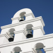 Bell Tower Santorini Style — Foto Stock