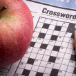 Crossword Puzzle — Foto de stock #36951827