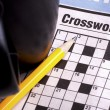 Crossword — Foto de stock #36951939