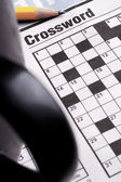 Crossword Puzzle game — Foto Stock