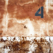 Rusty warehouse doors — Stock Photo