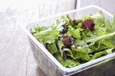 Salad, ready to eat the supermarket. — Stock Photo
