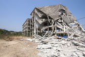 Destroy building — Stock Photo