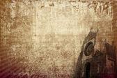 Church vintage background (horizontal) — Foto de Stock