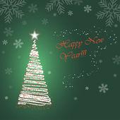 árbol de año nuevo — Foto de Stock