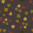 Autumn vector pattern — Stock Vector #33460667
