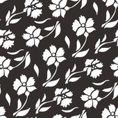 Floral seamless Pattern. Vector illustration — Vector de stock