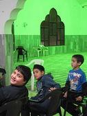 Koranic school in Ahmaddyya Mosque, Haifa — Stock Photo
