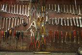 Mekanik atölye araçları — Stok fotoğraf