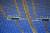 罗马,意大利-奥林匹克体育场 — 图库照片