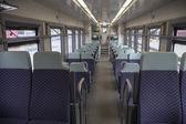 Pociąg w czarnogórze — Zdjęcie stockowe