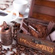 Stock Photo: Chocolate in dower chest