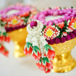 Thai flower garland — Stockfoto