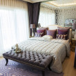Stock Photo: Elegance bedroom suite