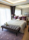 Suite com quarto de elegância — Fotografia Stock