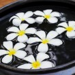 Stock Photo: Aromatherapy bowl