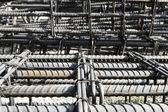 Steel rebar — Stock Photo