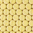 Yellow pills — Stock Photo #40937239