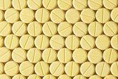 Žlutý prášky — Stock fotografie