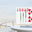 Royal Flush pouring out from laptop — Stock Photo #49281701