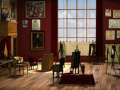Studio d'arte — Foto Stock