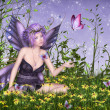 Butterfly Fairy — Stock Photo