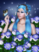 Cloches bleus — Photo