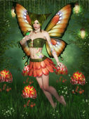 Flower Fairy — Stockfoto