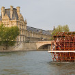 Paris and river Seine — Stock fotografie #21742251