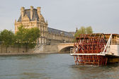 Paris and the river Seine — ストック写真