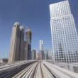 Dubai Metro - Stock Photo