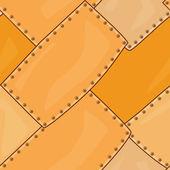 Orange metal seamless texture — Stock Photo