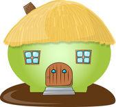 Pig-like house — Stock Photo