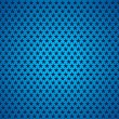Stars texture, blue background, holey surface, vector stars texture — Stock Vector