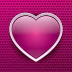 Vector heart, love icon, design element — Stock Vector #38921909