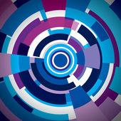 Abstraction vector digital background — Stock Vector