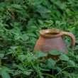 Old clay jug — Stock Photo