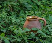 Old clay jug — Stock Photo