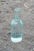 Průhledná láhev — Stock fotografie