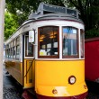 Stock Photo: Yellow tram