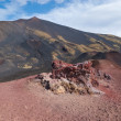 Landscape of etna craters — Stock Photo