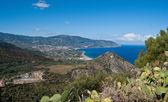 The view from tindari mountain — Photo