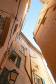 Narrow winding streets — Stock Photo