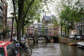 The bridge in amsterdam — Stock Photo